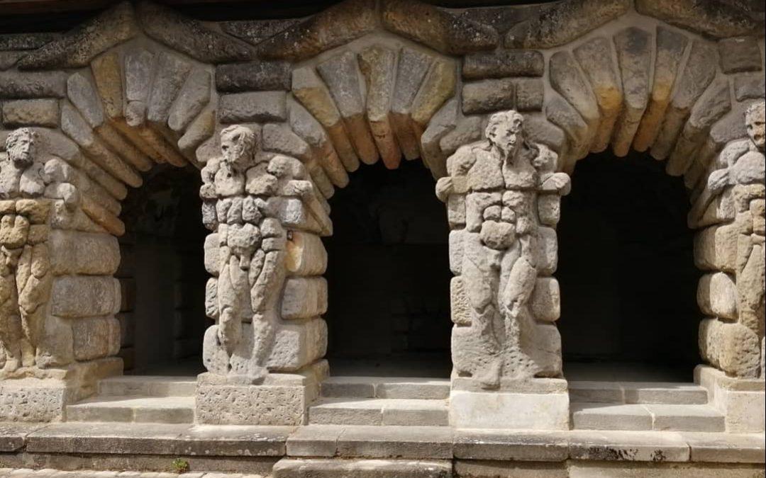 grotte des pins fontainebleau françois 1er francis primatice jardin garden private tour guide privé visite privée