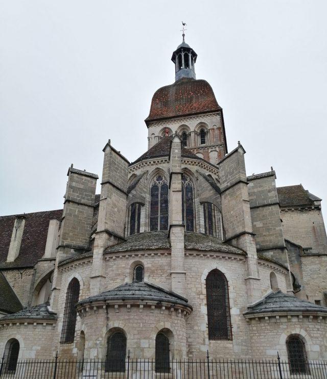 Beaune chevet basilique basilica